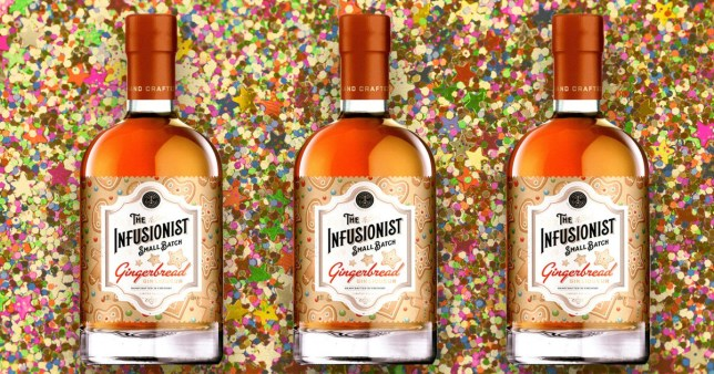 Aldi is launching a brand new 'Gingerbread' Christmas gin
