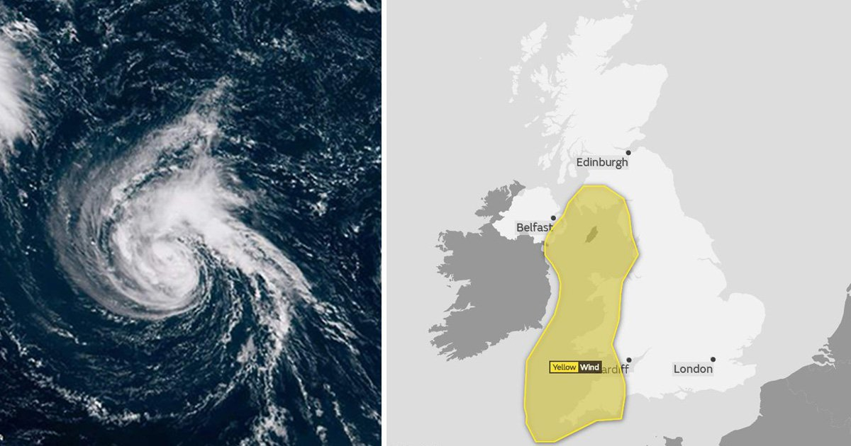 Storm Helene poses 'risk to life' as it heads for the UK