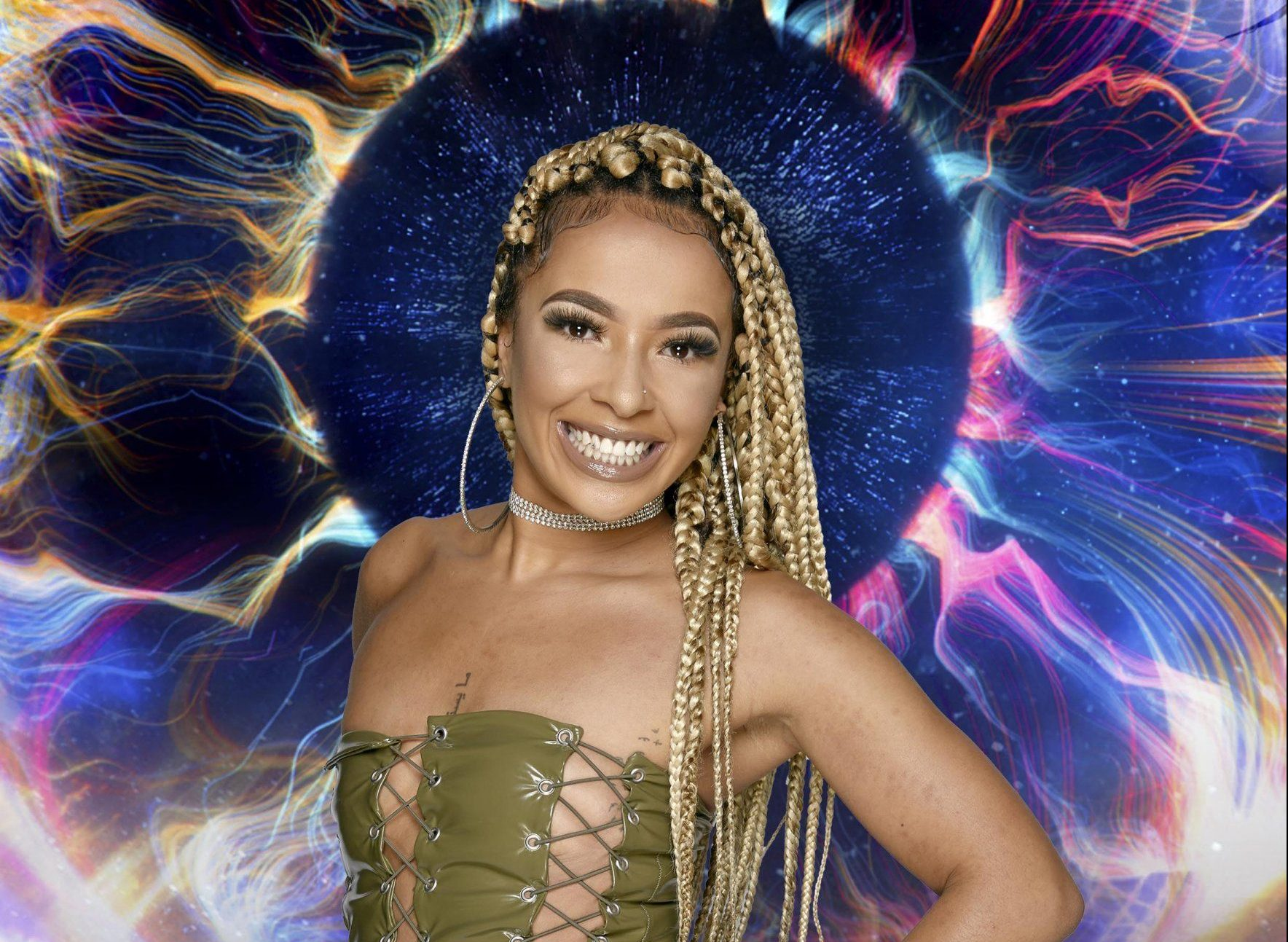 Undated handout photo issued by Channel 5 of Big Brother housemate Kenaley Amos-Sissons, as Channel 5 has announced that the upcoming series, due to launch Friday September 14, will be the last. PRESS ASSOCIATION Photo. Issue date: Friday September 14, 2018. Just days after the finale of Celebrity Big Brother the house has been transformed once again to host its final contestants. See PA story SHOWBIZ BB. Photo credit should read: Channel 5/PA Wire NOTE TO EDITORS: This handout photo may only be used in for editorial reporting purposes for the contemporaneous illustration of events, things or the people in the image or facts mentioned in the caption. Reuse of the picture may require further permission from the copyright holder.