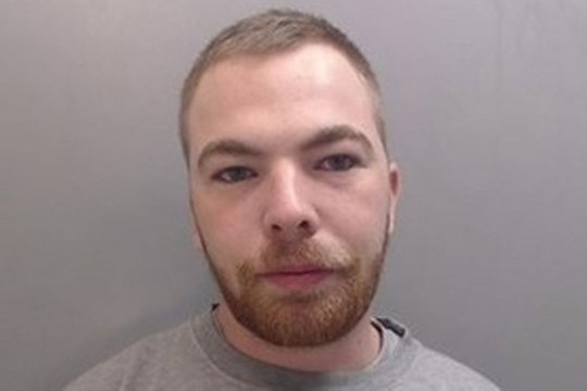 A thug was caught in a taxi while covered in blood after knocking a woman's tooth out in a robbery carried out to fund his cab ride and a kebab. Jack Edmonds led his victim to a secluded street then attacked her, leaving her unconscious and making off with ?50. Injured and upset when she came round, she was left knocking on strangers' doors for help while Edmonds went to a takeaway before getting a lift home to Wirral .