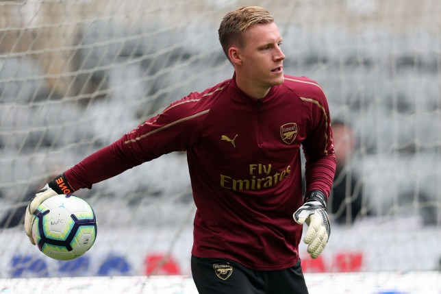 BERND LENO ARSENAL FC NEWCASTLE UNITED FC V ARSENAL FC, PREMIER LEAGUE ST JAMES PARK, NEWCASTLE, ENGLAND 15 September 2018 GBD12059 WARNING! This Photograph May Only Be Used For Newspaper And/Or Magazine Editorial Purposes. May Not Be Used For Publications Involving 1 player, 1 Club Or 1 Competition Without Written Authorisation From Football DataCo Ltd. For Any Queries, Please Contact Football DataCo Ltd on +44 (0) 207 864 9121
