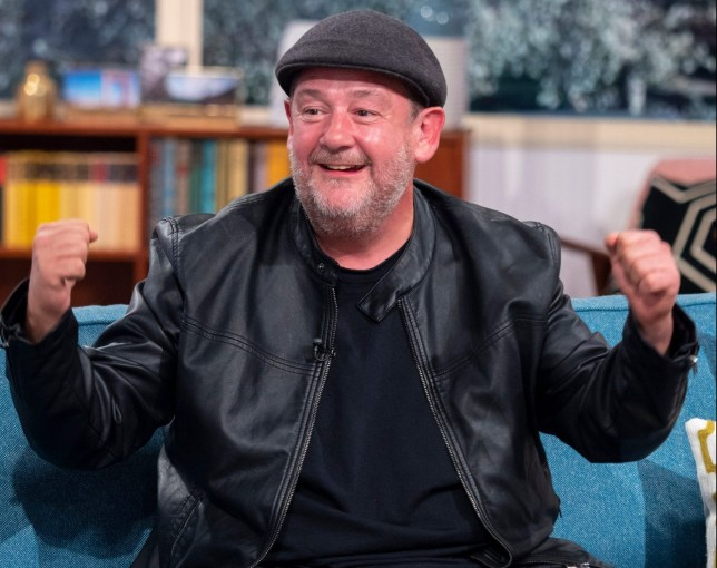 EDITORIAL USE ONLY. NO MERCHANDISING Mandatory Credit: Photo by Ken McKay/ITV/REX (9884864al) Johnny Vegas 'This Morning' TV show, London, UK - 17 Sep 2018 MEET THE NEW HEALTHY JOHNNY VEGAS: ?I?VE LOST THREE STONE AND COULDN?T BE HAPPIER? Johnny?s dad tragically passed away last year after a battle with bladder cancer but it was Macmillan who made it possible for the family to ?accept the unacceptable.? Johnny will be joining us to raise awareness of Macmillan's Biggest Coffee Morning and talking about the support the charity gave him and his family. Johnny will also be sharing the secrets to his dramatic weight loss after dropping a whopping 3 stone!
