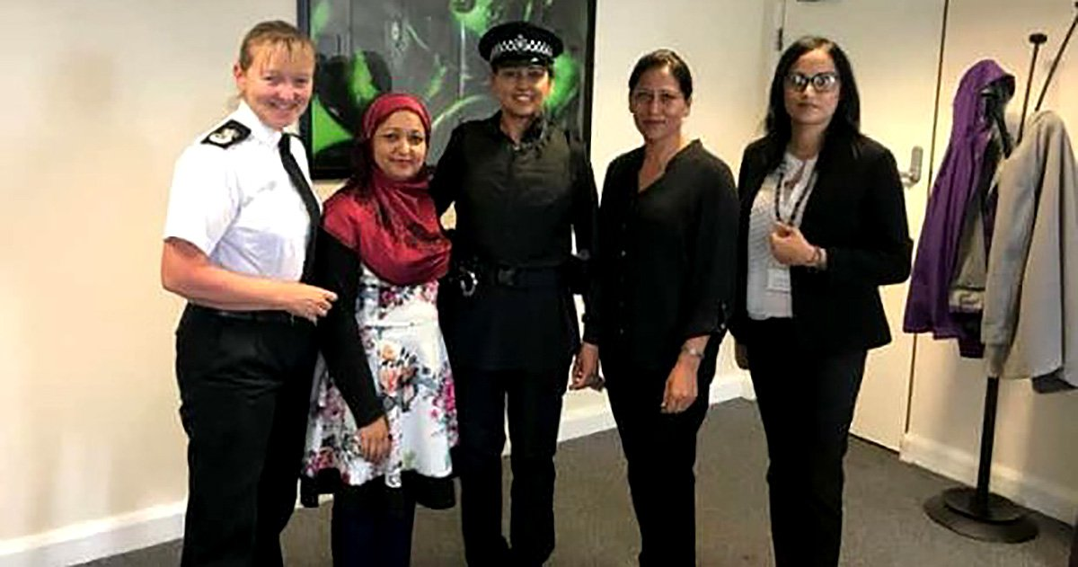 Muslim outfits for cops **AWAITING FOR HI-RES TO BE SENT** Picture: West Yorkshire Police METROGRAB