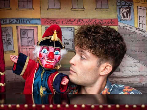 My odd job: I've been performing Punch and Judy since I was 4 and no show is ever the same