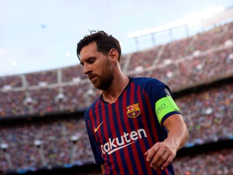 5413d424d Lionel Messi equals Raul s Champions League record with brilliant free-kick  against PSV