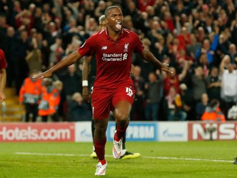 Roberto Firmino flashes huge smile as Daniel Sturridge puts Liverpool ahead vs PSG