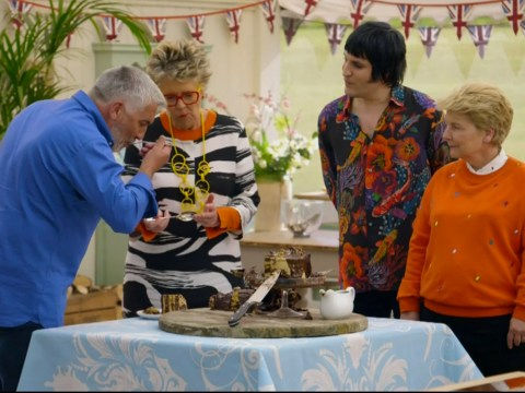 What happens to the food after Bake Off?