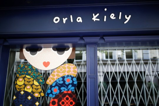 An Orla Kiely store in central London, Britain September 19, 2018. REUTERS/Henry Nicholls