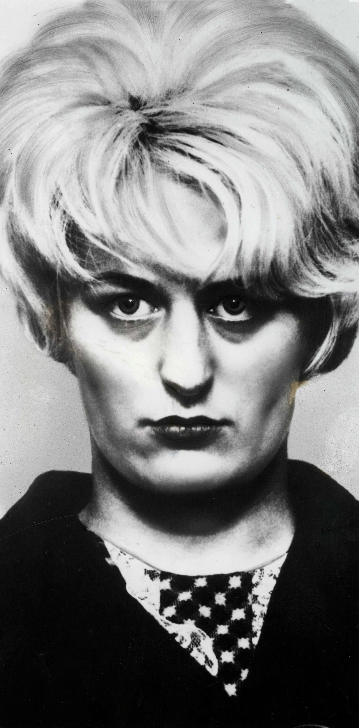Circa 1966, Police photo-fit of Moors Murderer Myra Hindley who along with accomplice Ian Brady were found guilty of murdering three children (Photo by Bentley Archive/Popperfoto/Getty Images)