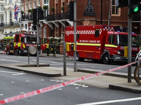 'Chemical spillage' from five-star hotel causes major London road to close