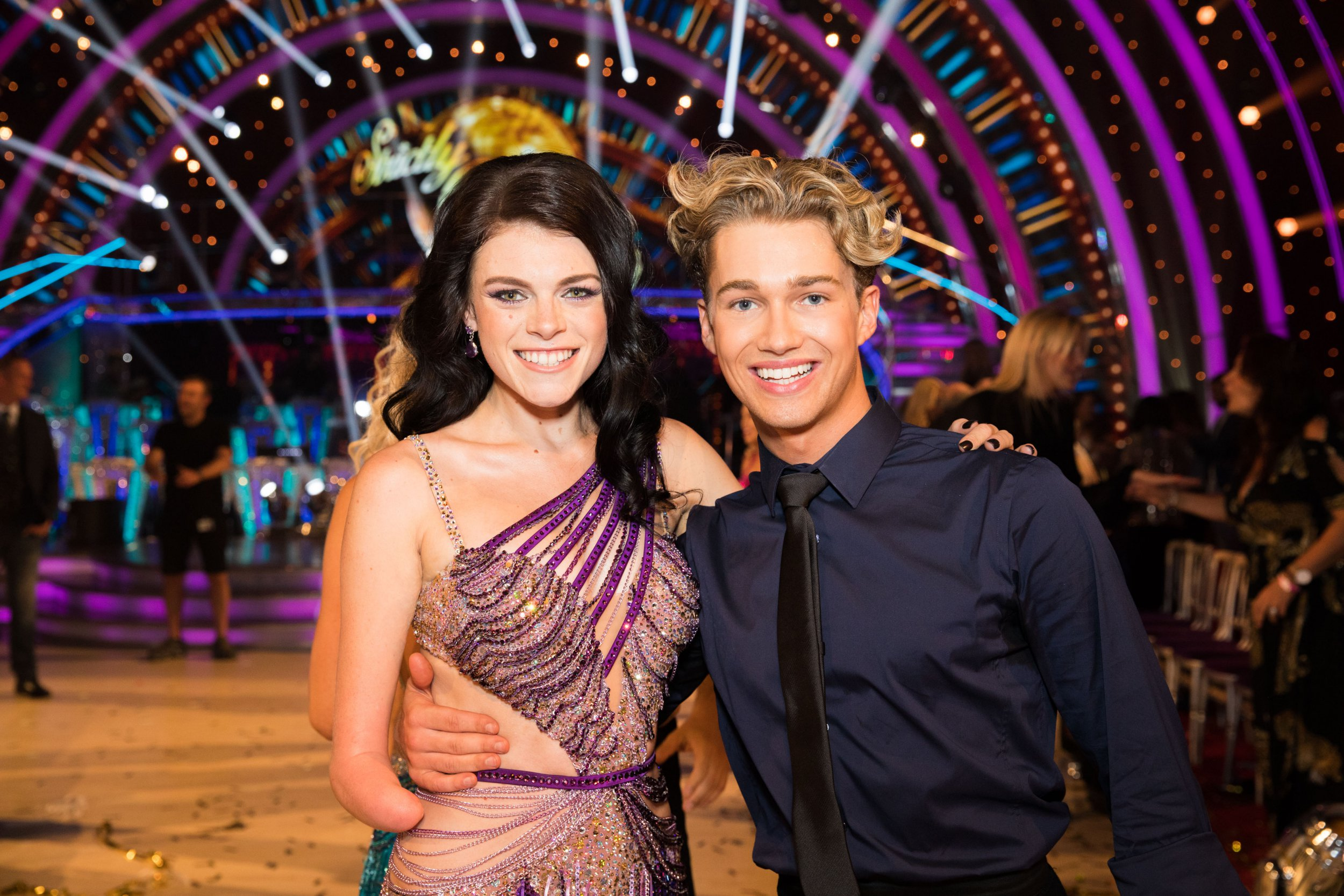 WARNING: Embargoed for publication until 21:00:01 on 08/09/2018 - Programme Name: Strictly Come Dancing 2018 - TX: 08/09/2018 - Episode: n/a (No. 1) - Picture Shows: **Strictly embargoed util 21:00:01 08/09/2018** Lauren Steadman, AJ Pritchard - (C) BBC - Photographer: Guy Levy