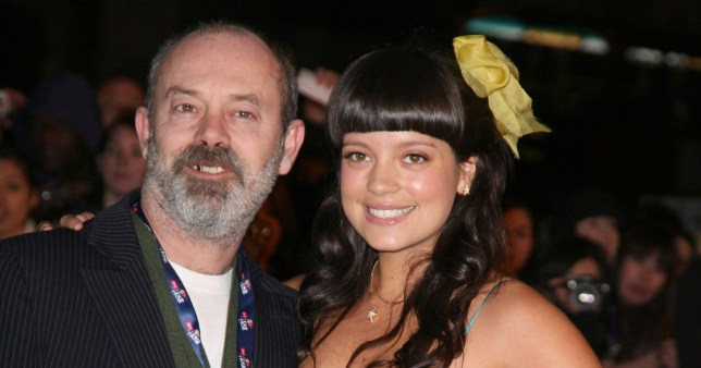 Lily Allen & Keith Allen Attend The Brit Awards 2007 At London'S Earls Court. (Photo by Antony Jones/Justin GoffUK Press via Getty Images)