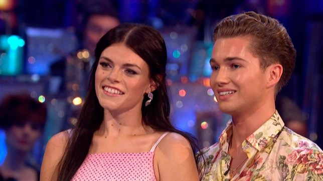 """22-9-2018 TV show """"Strictly Come Dancing"""" (series 16) Week 1 Pictured: Lauren Steadman AJ Pritchard PLANET PHOTOS www.planetphotos.co.uk info@planetphotos.co.uk +44 (0)20 8883 1438"""