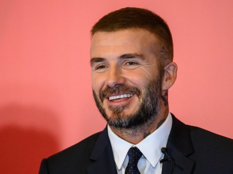 David Beckham shows off new hair as he gets back to work after holidaying in Miami