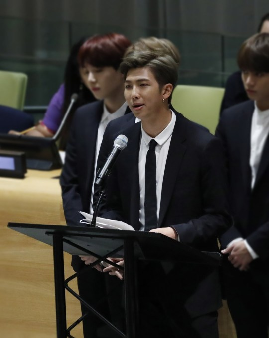 RM's United Nations speech goes viral as BTS leader pays tribute to