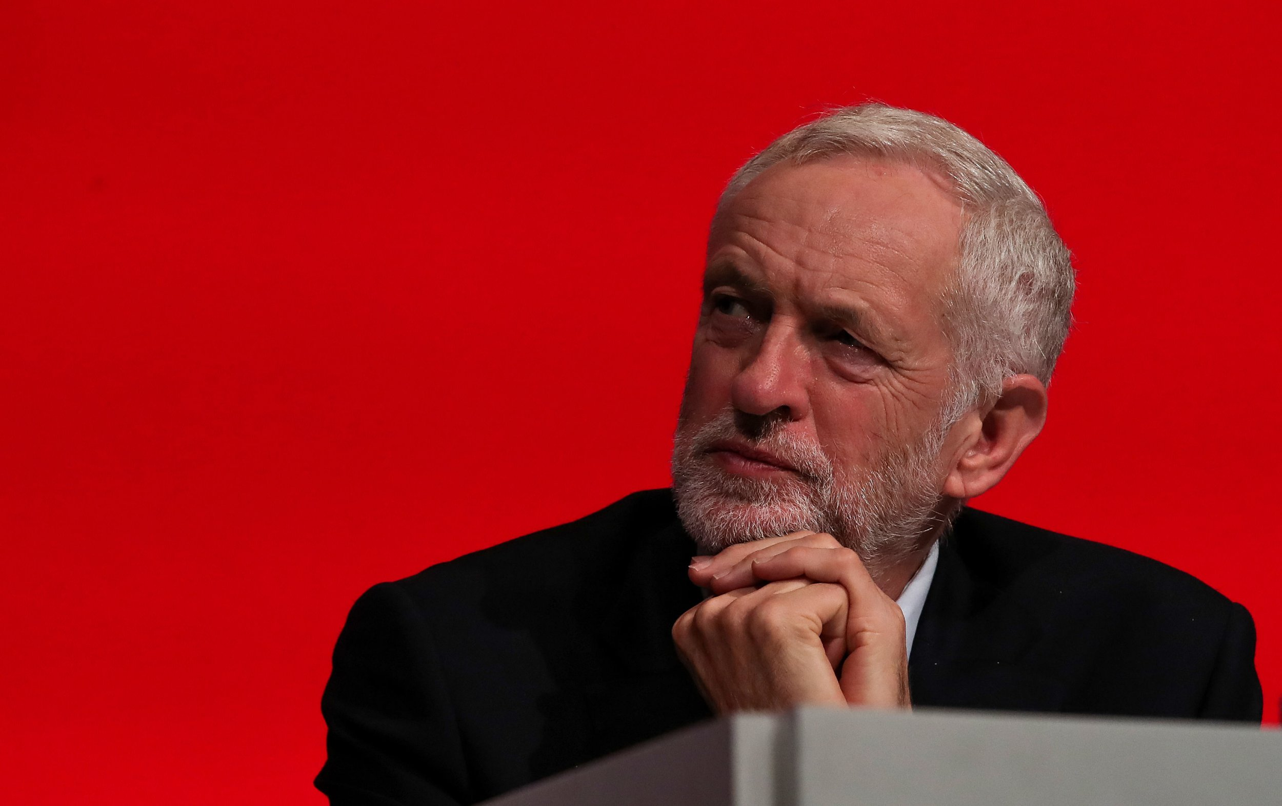 Labour leader Jeremy Corbyn during the Labour Party's annual conference at the Arena and Convention Centre (ACC), in Liverpool. PRESS ASSOCIATION Photo. Picture date: Tuesday September 25, 2018. See PA LABOUR stories. Photo credit should read: Peter Byrne/PA Wire