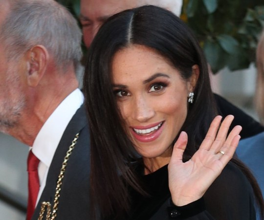 The Duchess of Sussex attends the opening of Oceania at the Royal Academy of Arts in London. PRESS ASSOCIATION Photo. Picture date: Tuesday September 25, 2018. The exhibition is the first major survey of Oceanic art to be held in the UK, celebrating the art of Melanesia, Micronesia and Polynesia, encompassing the Pacific region from New Guinea to Easter Island, Hawaii to New Zealand. See PA story ROYAL Meghan. Photo credit should read: Yui Mok/PA Wire