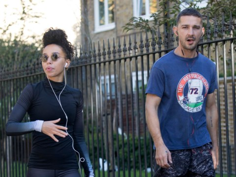 Shia LaBeouf and FKA twigs work up a sweat on afternoon run after confirming romance