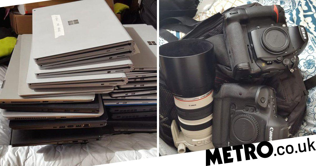 If your laptop's been stolen recently police might have just found