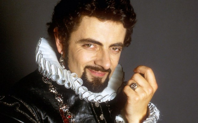 Television Programme: Blackadder II with Rowan Atkinson as Edmund Blackadder. Blackadder II - Generic - Picture shows: Edmund, Lord Blackadder (Rowan ATKINSON)