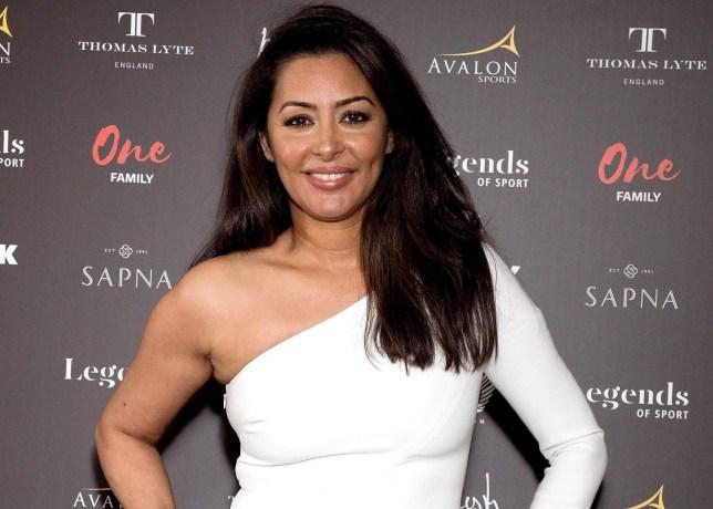 Mandatory Credit: Photo by REX/Shutterstock (9485291j) Laila Rouass 'Legends of Sport' Awards, Royal Garden Hotel, London, UK - 30 Mar 2018
