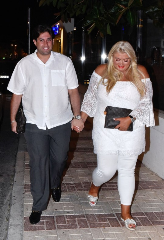 Gemma Collins and James Argent party in Marbella after Arg's