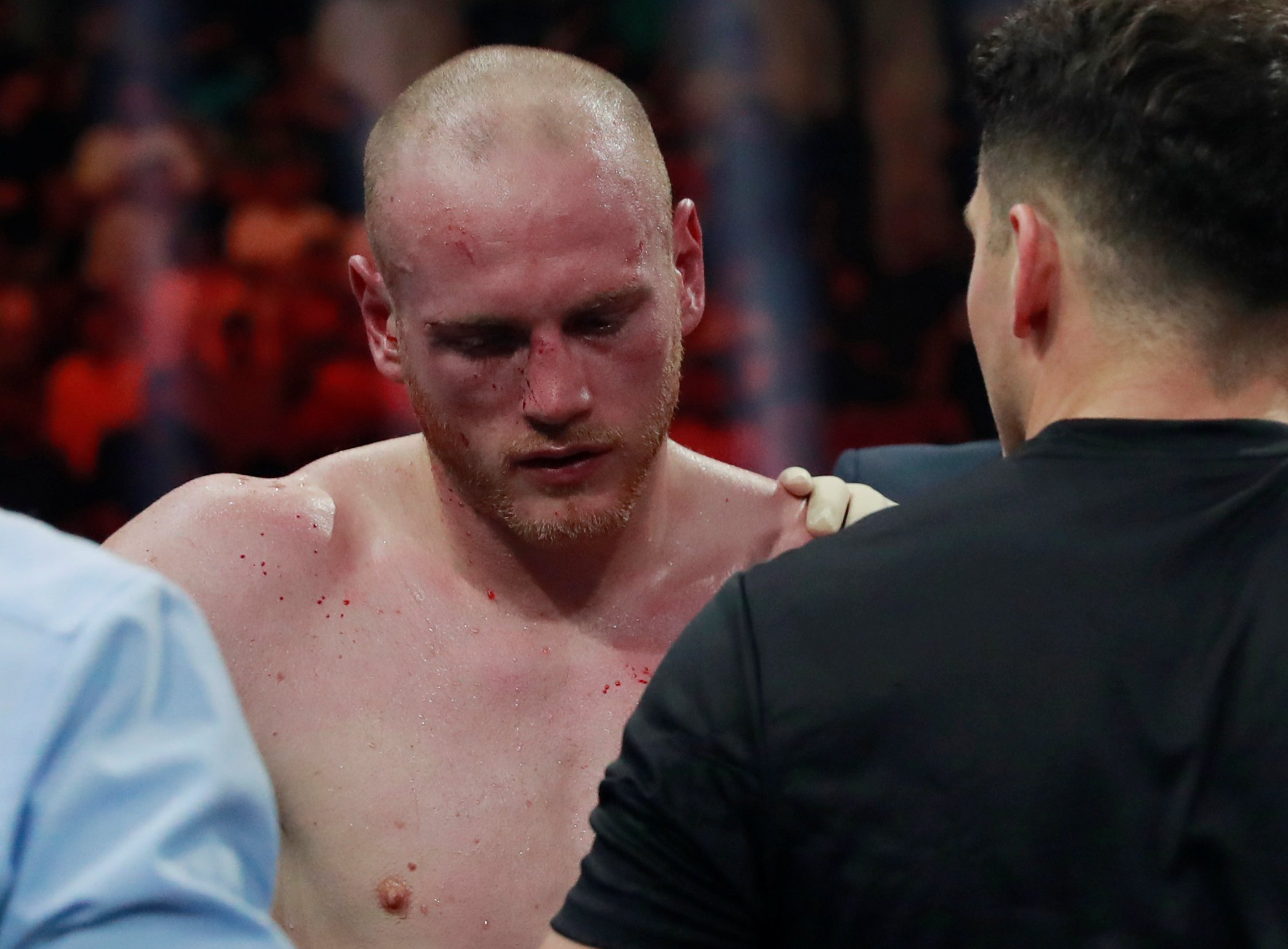 George Groves reveals plan for the future after being knocked out by Callum Smith