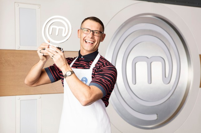 For use in UK, Ireland or Benelux countries only Undated BBC handout photo of John Partridge who has been crowned champion of Celebrity MasterChef after cooking in memory of his late mother. PRESS ASSOCIATION Photo. Issue date: Friday September 28, 2018. The EastEnders actor said cooking became a way of healing after his descent into substance abuse following the death of his mother. See PA story SHOWBIZ MasterChef. Photo credit should read: BBC/PA Wire NOTE TO EDITORS: Not for use more than 21 days after issue. You may use this picture without charge only for the purpose of publicising or reporting on current BBC programming, personnel or other BBC output or activity within 21 days of issue. Any use after that time MUST be cleared through BBC Picture Publicity. Please credit the image to the BBC and any named photographer or independent programme maker, as described in the caption.