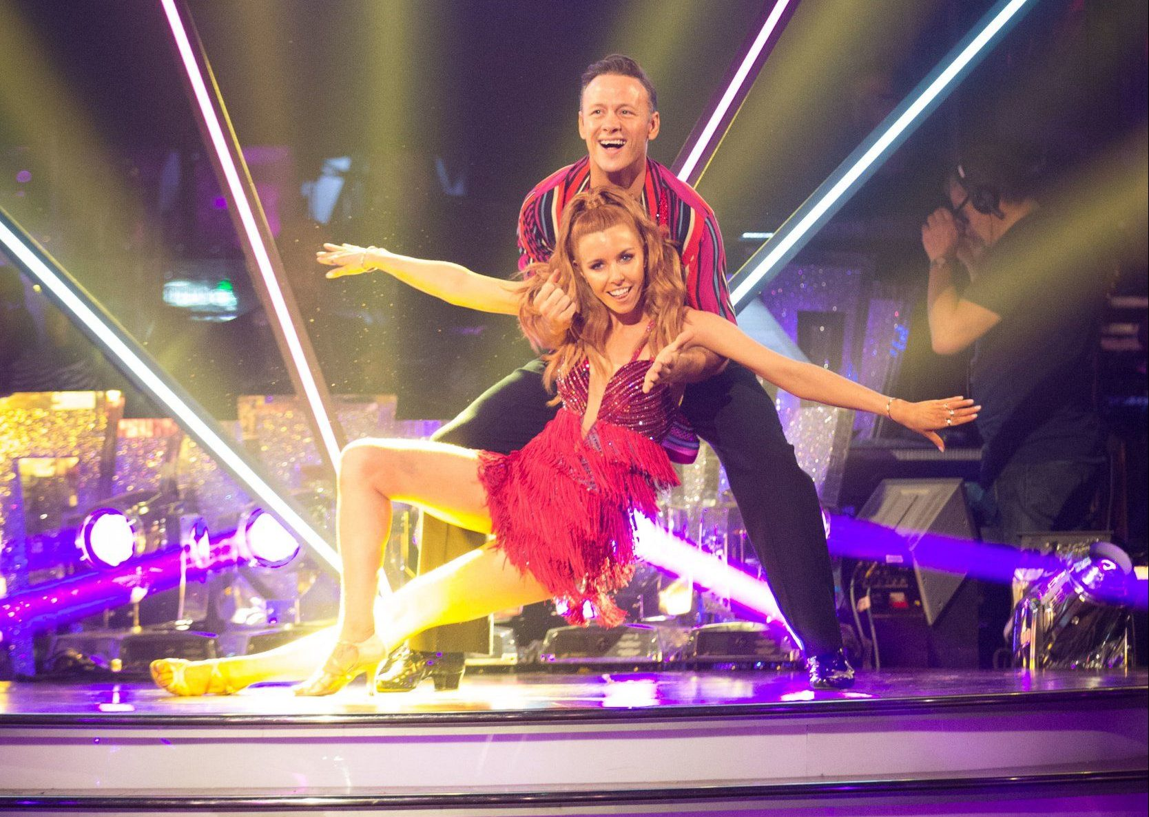 Strictly's Stacey Dooley leaves Kevin Clifton 'outraged' after she reveals real reason she couldn't collect MBE
