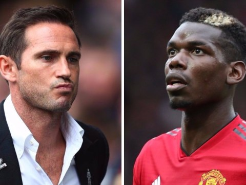 Frank Lampard jokes Paul Pogba will score hat-trick ahead of Manchester United's clash with Derby