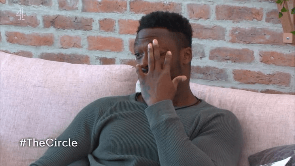 Dan was left in tears over Genelle's exit (Picture: Channel 4)