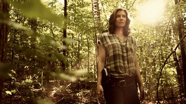 Maggie left our characters in season 9 to start a new survivors' community (Picture: AMC/Victoria Will)