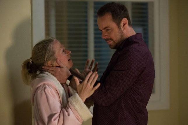 Mick and Linda argue in EastEnders