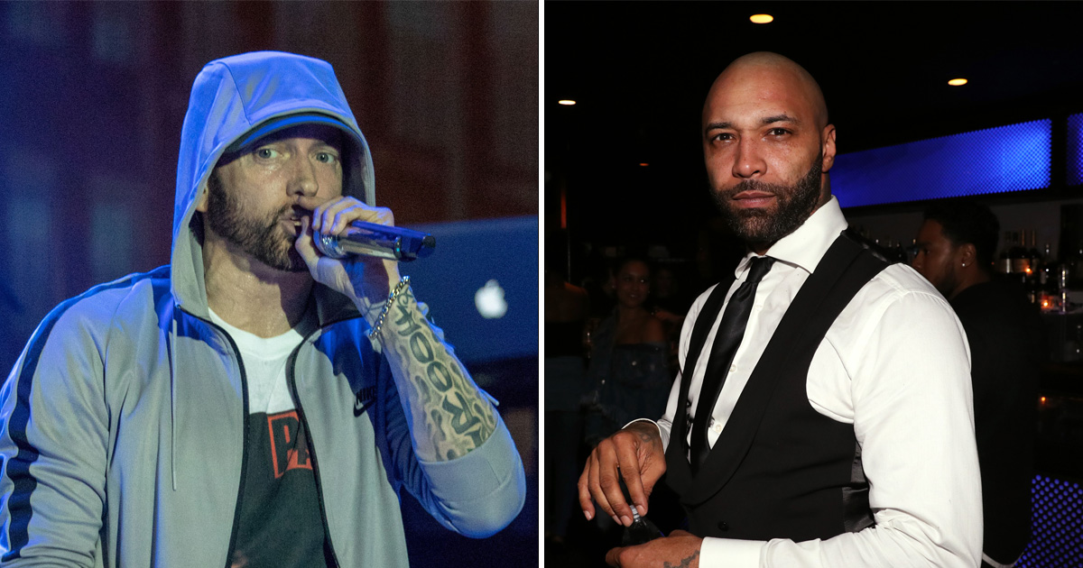 Joe Budden won't end retirement to hit back at Eminem: 'He's not worth it'