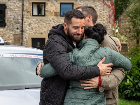 Emmerdale spoilers: Three exits air as Ross Barton and Rebecca White leave with baby Seb