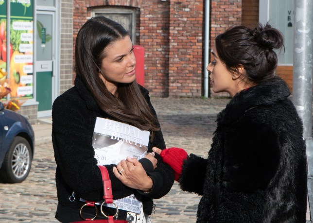 Coronation Street spoilers: Kate Connor and Rana Habeeb look ahead to wedding