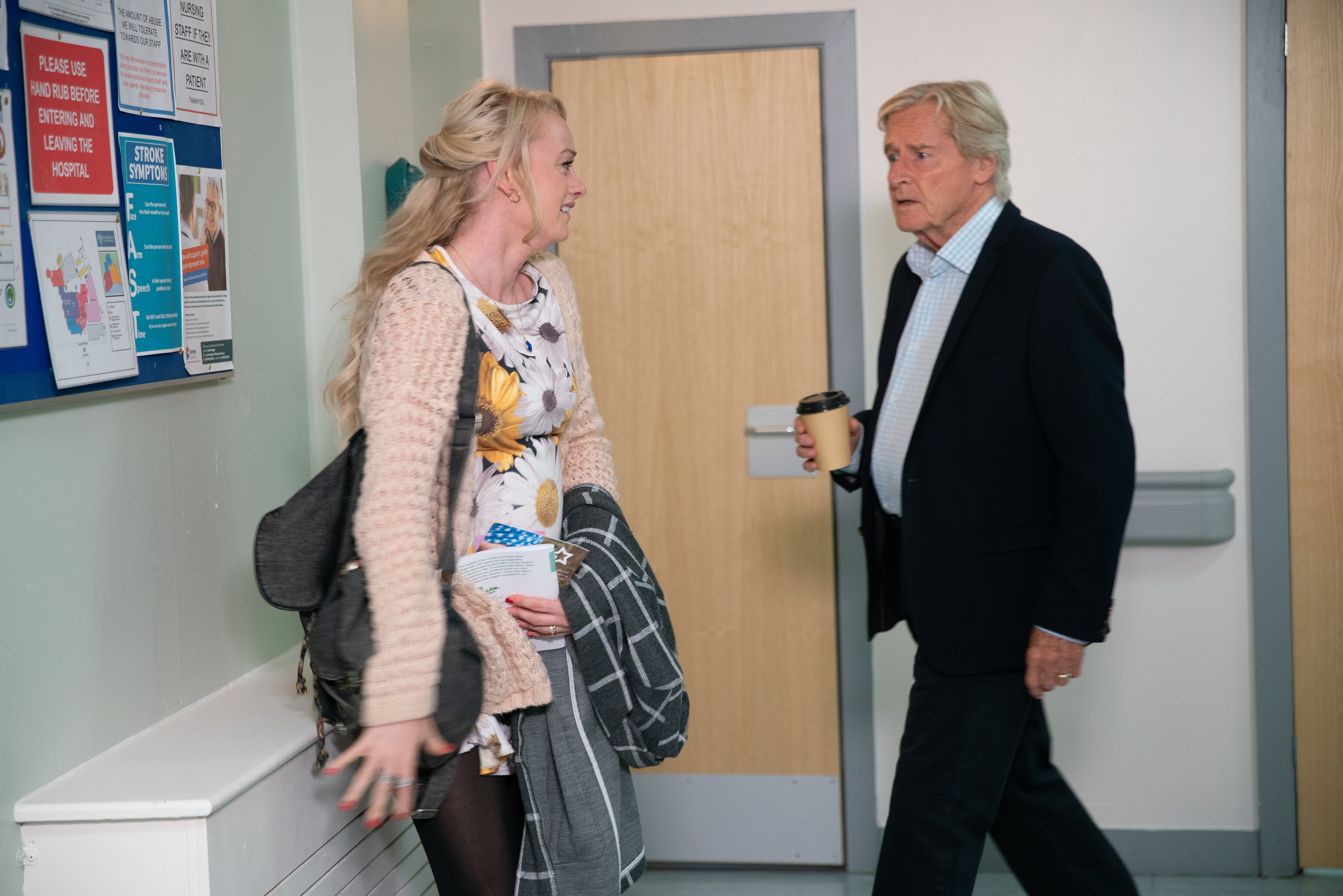 Ken makes a decision in Coronation Street