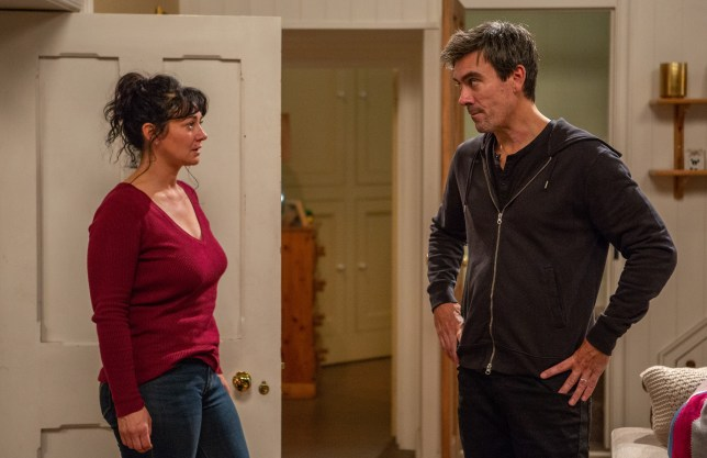 Cain tells Moira the truth in Emmerdale