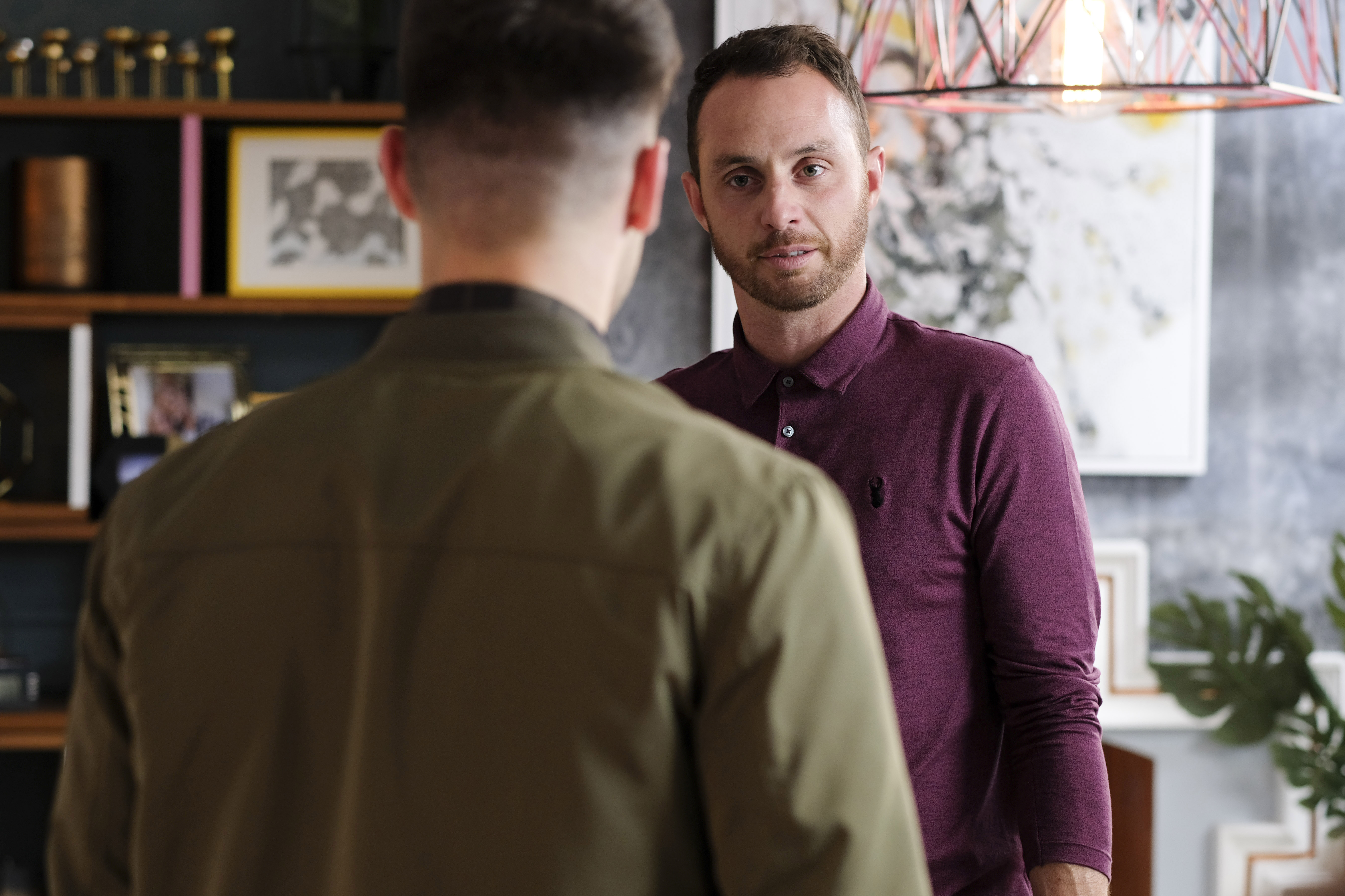 James discovers the truth about Romeo in Hollyoaks