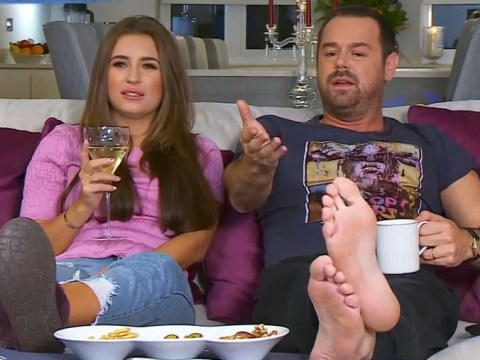 Danny Dyer said his daughter will be 'good at' Naked Attraction and viewers don't know what to do with that information