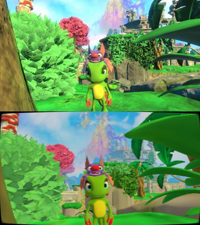 Yooka-Laylee 64-bit mode is beautifully ugly