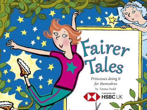 Author turns fairy tales into 'fairer' tales
