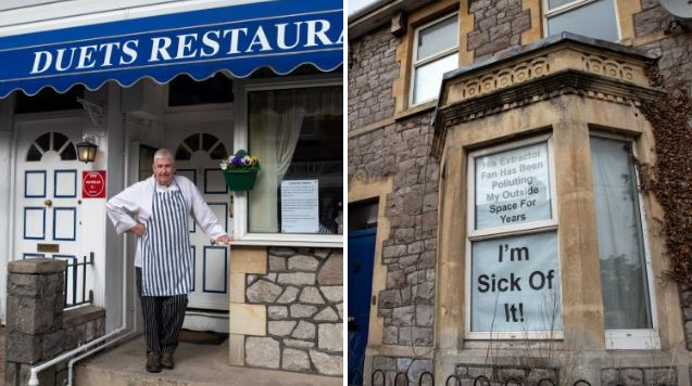 Man angry at garlic smell in his home accuses restaurant of pollution