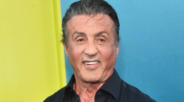 Sylvester Stallone at The Meg premiere