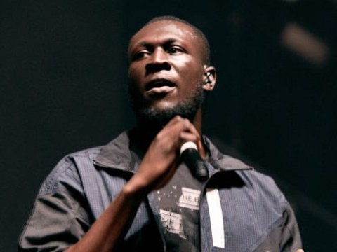 Stormzy seems just a little frustrated as he corrects Vossi Bop lyrics