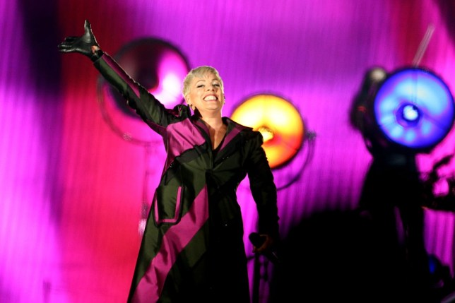 Pink doesn't even know which of her albums has reached number 1