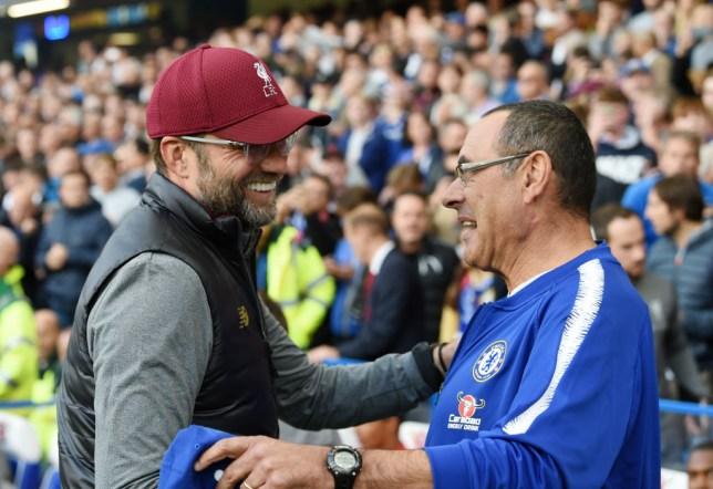 Maurizio Sarri reveals what Jurgen Klopp told him before Liverpool's equaliser against Chelsea