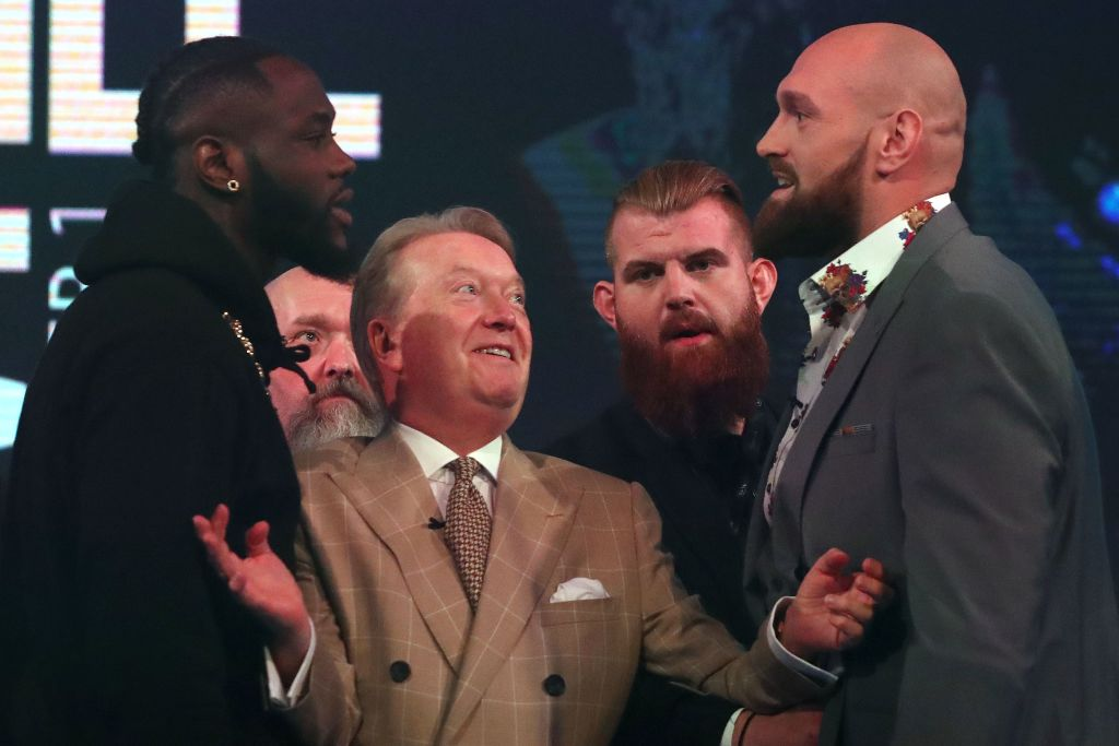 Frank Warren Column: Tyson Fury has rattled Deontay Wilder and already gained the upper hand