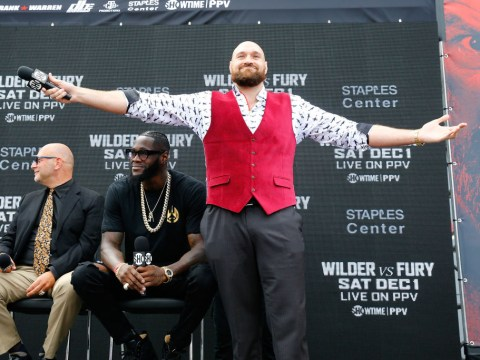 Tyson Fury tells Deontay Wilder he's already be duped ahead of world title showdown