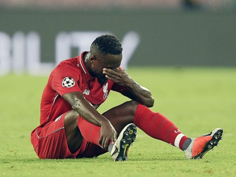 Naby Keita given all clear to leave hospital after injury in Liverpool's defeat to Napoli